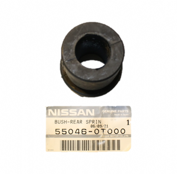 Genuine Nissan Rubber Rear Spring Bush 55046-0T000, 550460T000